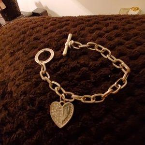 Michael Kors Silver tone bracelet